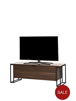 off-the-wall-cube-130-cm-tv-cabinet-walnut-effect-fits-up-to-65-inch-tv