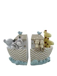 noahs-ark-resin-set-of-2-bookends