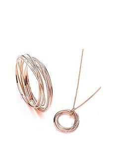 buckley-london-buckley-london-rose-gold-plated-cubic-zirconia-elegance-russian-twist-bangle-amp-necklace-set-with-free-gift-bag