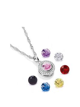 buckley london Buckley London Interchangeable Gemstone Pendant Necklace  ... Picture