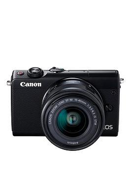 Canon   Eos M100 Csc Camera Kit Inc 15-45Mm Lens - Black