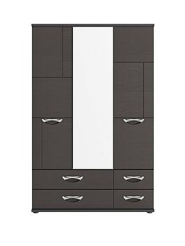 consort-eva-3-door-4-drawer-mirrored-wardrobe