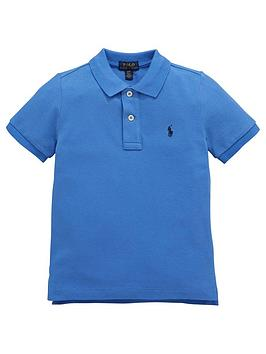 Ralph Lauren Ralph Lauren Boys Classic Short Sleeve Polo Shirt - Blue Picture