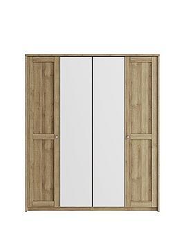 consort-bronte-4-door-mirrored-wardrobe