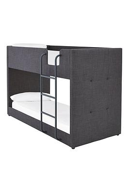 Very Lubana Fabric Bunk Bed Frame With Mattress Options (Buy And Save!) -  ... Picture