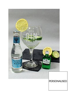 personalised-gin-ampnbspbear-it-glass-with-miniaturenbspgin-ampnbspmixer