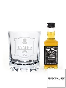 personalisednbspgentlemans-glass-with-a-miniaturenbspwhisky-ampnbspcoke-in-a-gift-tin