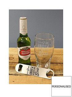 personalised-ale-glass-personalised-bottle-opener-and-bottle-of-ale-in-a-gift-hamper