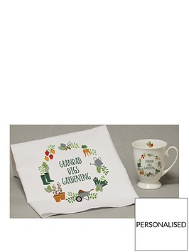 personalised-digs-gardening-marquee-mug-and-tea-towel-set