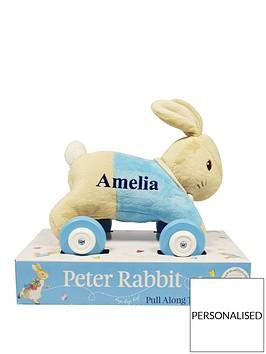 peter-rabbit-personalised-pull-along