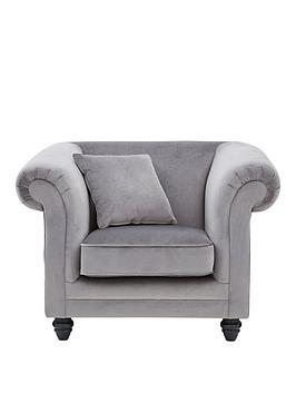 Very New Grace Fabric Armchair Picture