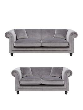 Very New Grace 3-Seater + 2-Seater Fabric Sofa Set (Buy And Save!) Picture