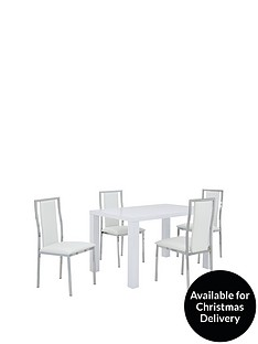 atlantic-80-x-120-cm-gloss-dining-table-4-atlantic-chairs