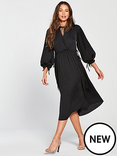 river-island-wrap-midi-dress-black