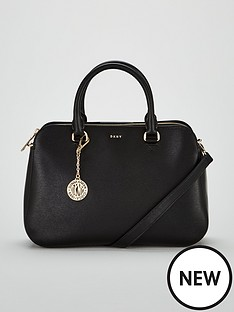dkny-bryant-sutton-medium-satchel-bag-black
