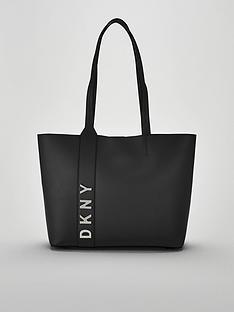 dkny-bedfordnbsplogo-large-tote-bag-black