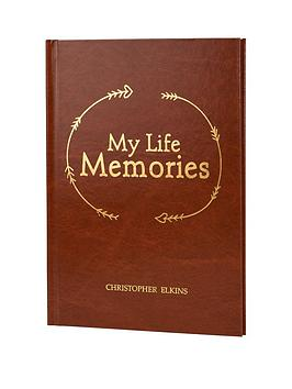 Very Personalised My Life In Memories Journal Picture