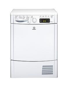 indesit-ecotime-idce8450bh-8kg-load-sensor-condenser-tumble-dryer-white