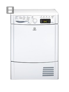 indesit-ecotime-idce8450bh-8kg-load-sensor-condenser-tumble-dryer-white