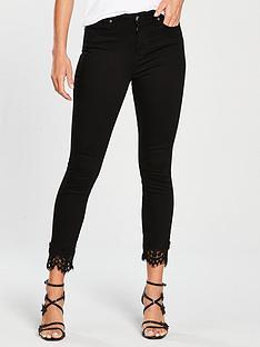 v-by-very-ella-lace-trim-hem-high-waisted-skinny-jean-blacknbsp