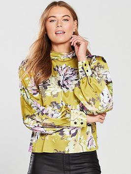v-by-very-high-neck-blouse-printed