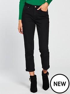 v-by-very-girlfriend-straight-leg-jean-black