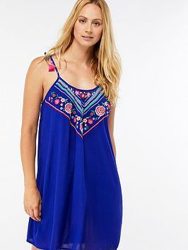 accessorize-chevron-swing-dress-blue