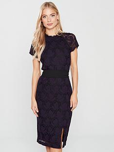phase-eight-henrietta-lace-dress-blackdeadly-nightshade