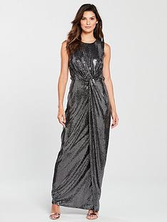 phase-eight-dahlia-shimmer-maxi-dress-silver
