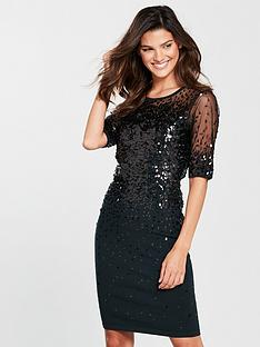 phase-eight-orlena-oval-sequin-dress-blacknbsp
