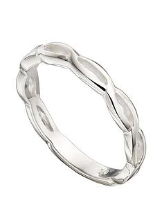 the-love-silver-collection-sterling-silver-twisted-band-ring