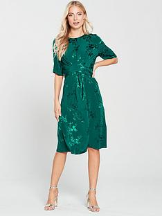 phase-eight-jaimee-jacquard-wrap-dress-jade