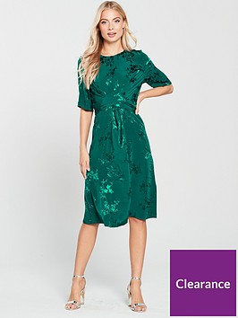 phase-eight-jaimee-jacquard-wrap-dress-jade