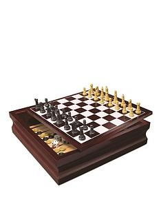 cardinal-classic-wood-family-10-game-set-black-amp-gold