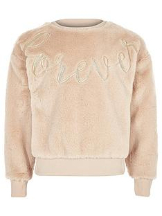 river-island-girls-cream-faux-fur-sweater