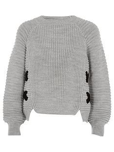 river-island-girls-grey-knit-cross-front-jumper
