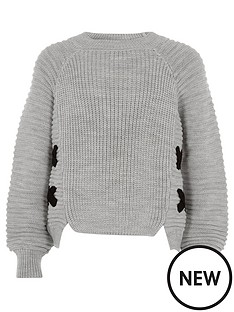 river-island-girls-grey-knit-cross-front-jumper