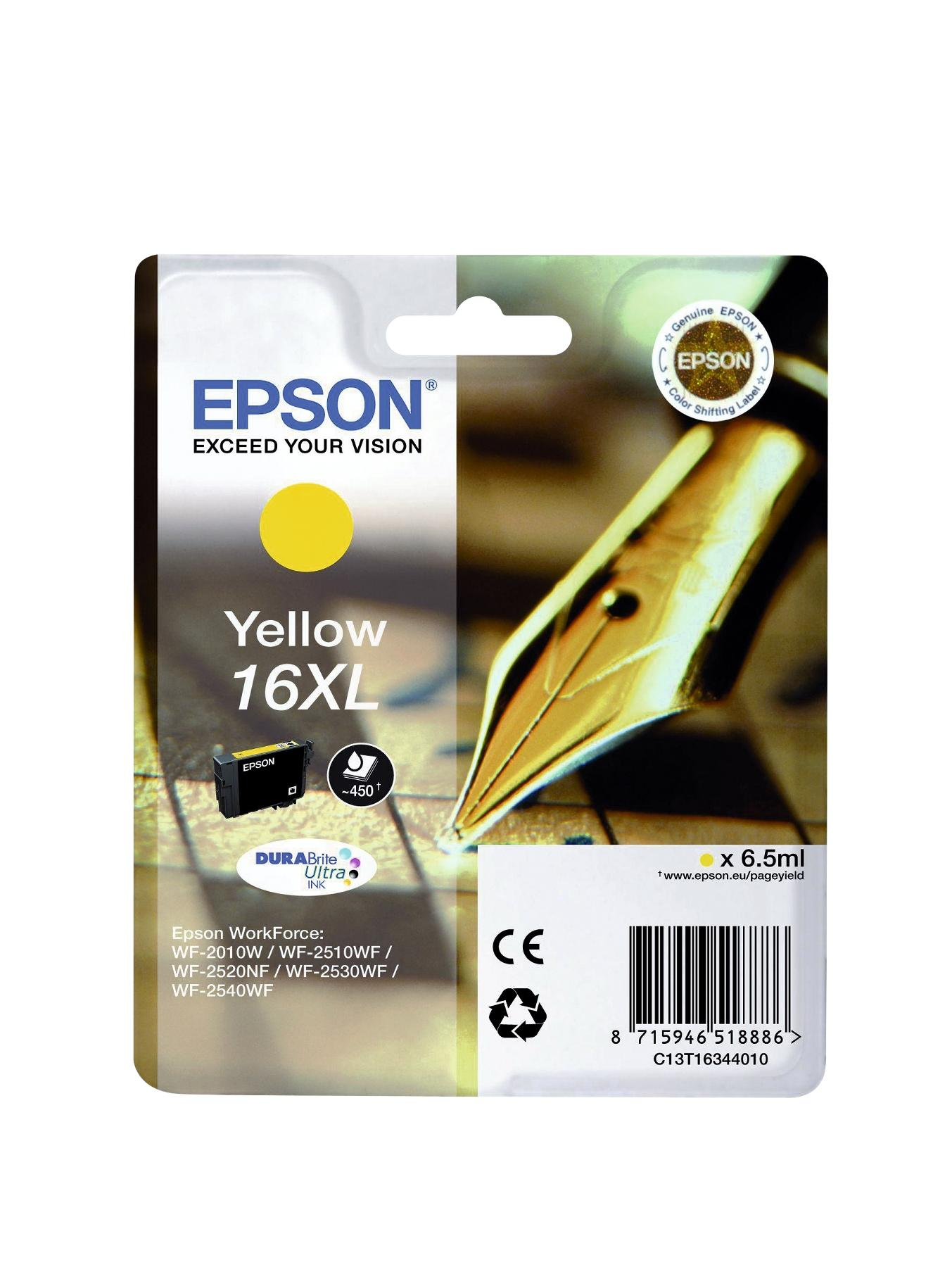 Singlepack Yellow 16 DURABrite Ultra Ink at Littlewoods