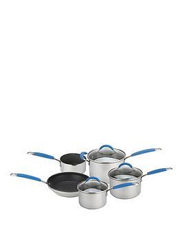 Joe Wicks Joe Wicks 5-Piece Stainless Steel Pan Set Picture