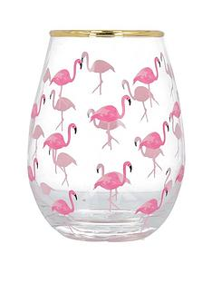 creative-tops-ava-amp-i-flamingos-stemless-wine-glass