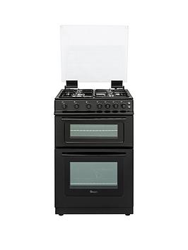 swan-sx15861b-60cm-wide-freestanding-gas-double-oven-cooker