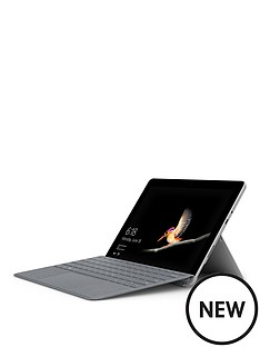 microsoft-microsoft-surface-go-intel-pentium-gold-processor-4415y-4gb-ram-64gb-emmc-ssd-10in-touchscreen-2-in-1-laptop-platinum-with-platinum-type-cover