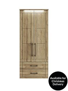 consort-kardon-ready-assembled-2-door-2-drawer-wardrobenbspwith-lights