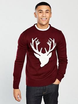 v-by-very-reindeer-knitted-jumper