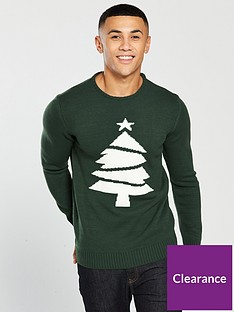 v-by-very-christmas-tree-knitted-jumper