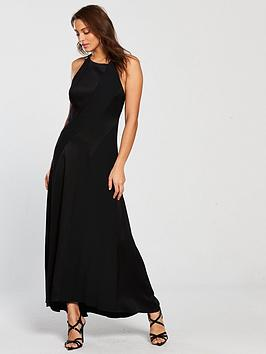 karen-millen-body-skimming-contour-dress-black