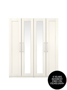frodsham-part-assemblednbsp4-door-mirrored-wardrobe