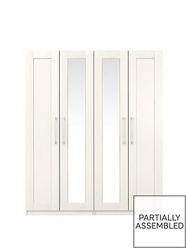 frodshamnbsp4-door-mirrored-wardrobe