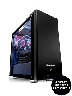 pc-specialist-tracer-extreme-2080-tinbsppc-gaming-desktop-base-unit-with-intel-i9-16gb-ram-500gb-ssd-amp-2tb-hard-drive-11gb-nvidia-geforce-rtx-2080-ti-graphics-black