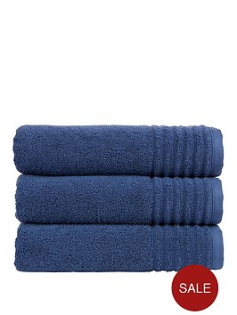 christy-adelaide-100-combed-cotton-towel-collection-pairsnbspndash-navy
